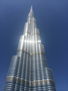 Burj Kharifa, the world tallest building